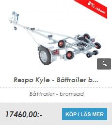 Båttrailer Respo Kyle