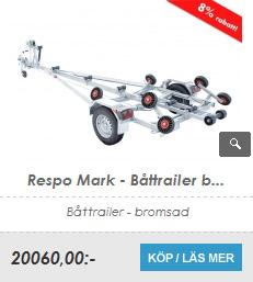 Båttrailer Respo Mark