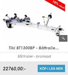 Båttrailer Tiki BT1300BP