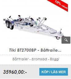 Båttrailer Tiki BT2700BP