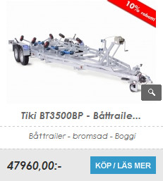 Båttrailer Tiki BT3500BP